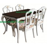 Dining Table set Baroque 04